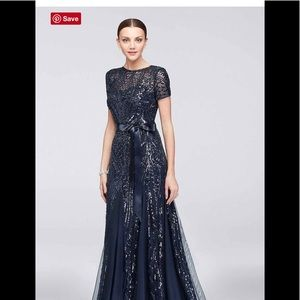 Mother Of The Bride, Navy sequined